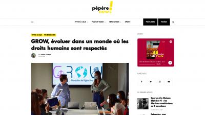 Pépère News - Grow Think Tank
